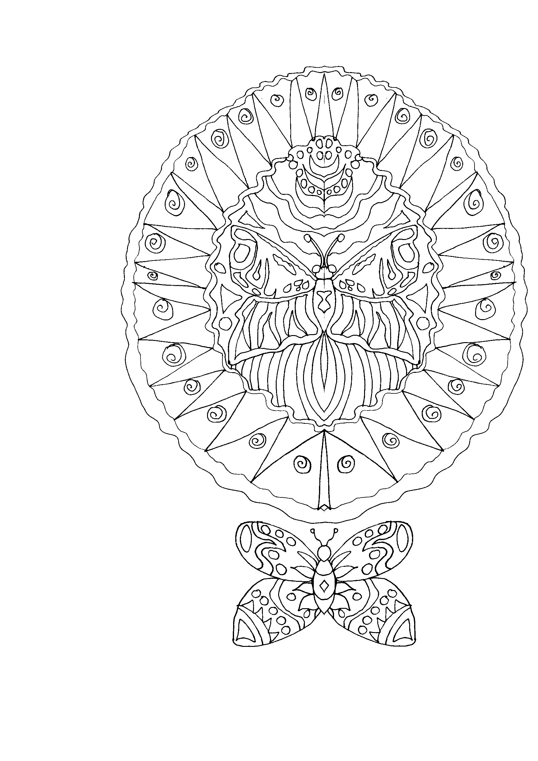 Free Coloring Book Page – 0239