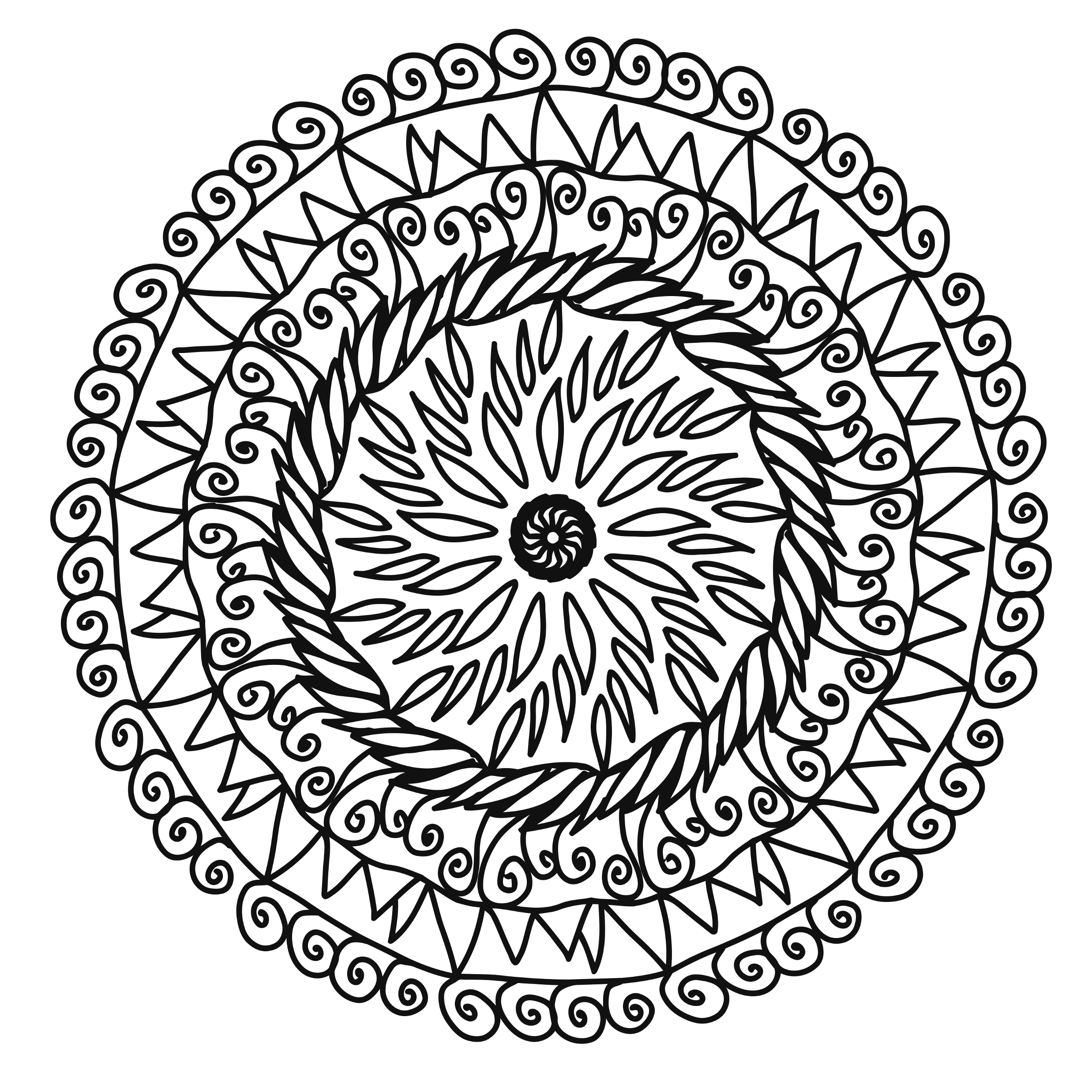 Free Coloring Book Page – 1083