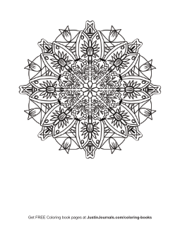 Free Coloring Book Page – 1084