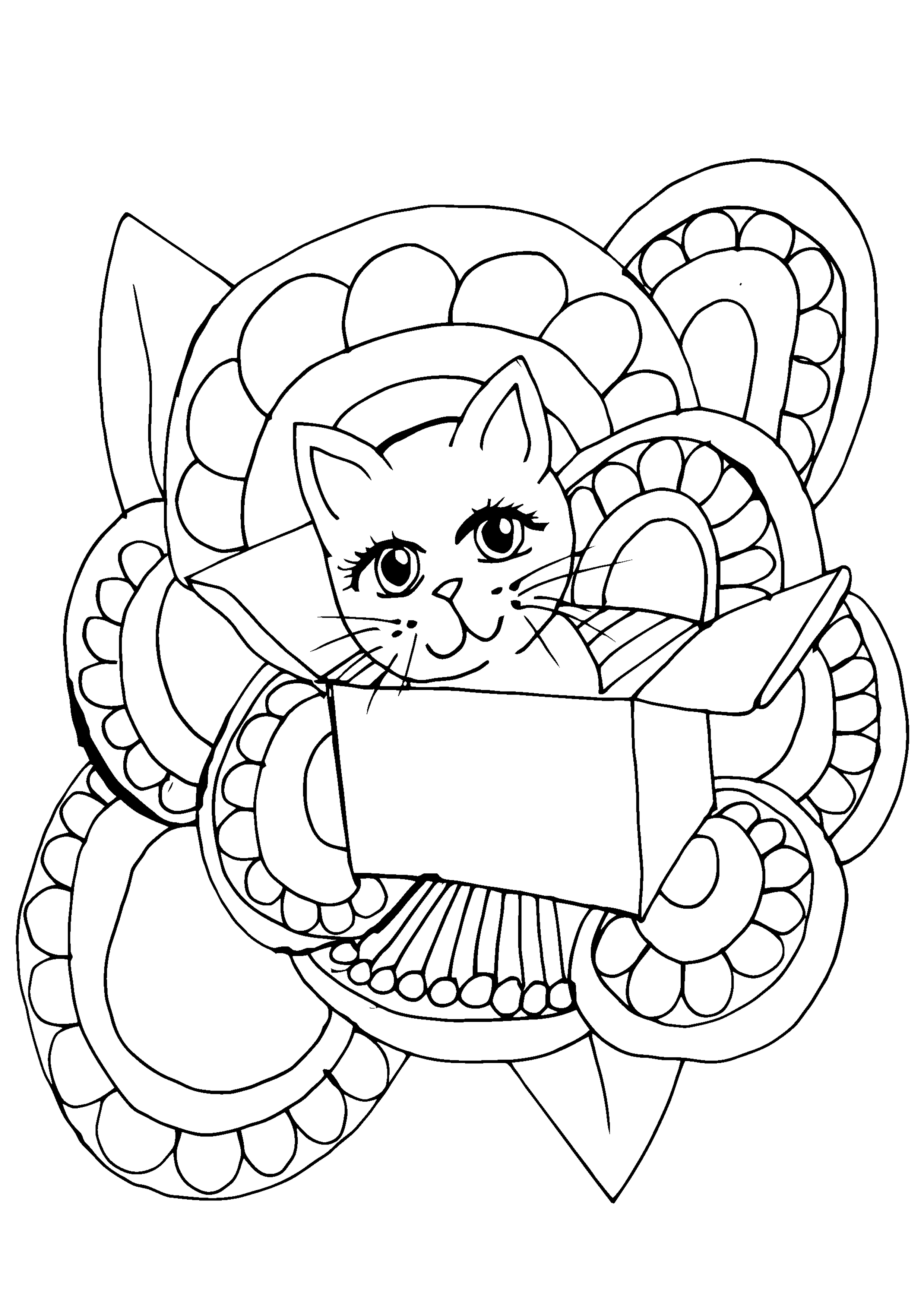 Free Coloring Book Page – 1099